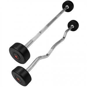 barras olimpicas con peso fijo peru