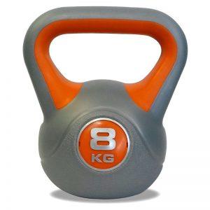 Kettlebell Pesas Rusas 8 kilos profesional Importada solo en total fitness lima peru