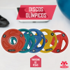 Discos olimpicos total fitness