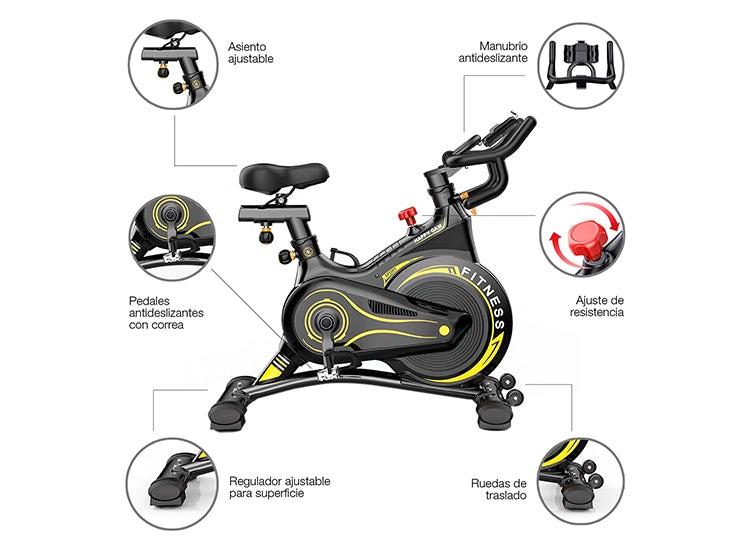 bicicleta spinning medidas