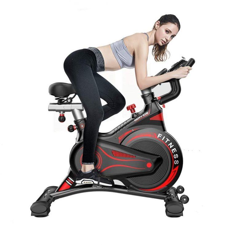 bicicleta spinning power red